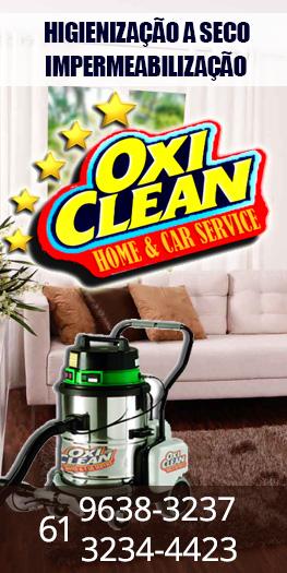 Higienização Oxiclean